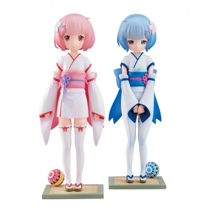 Re:ZERO -Starting Life in Another World- 1/7 Scale Ram & Rem -Osanabi no Omoide-