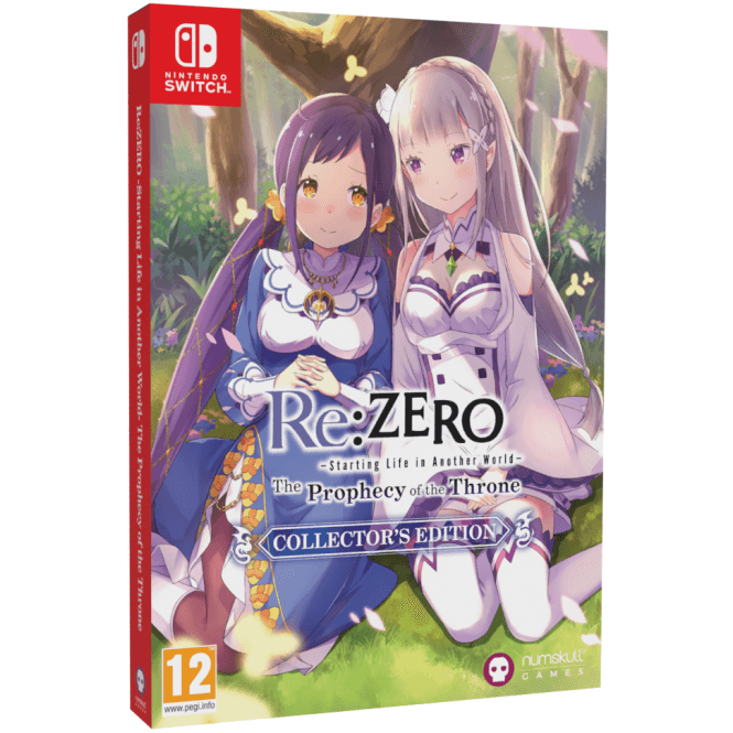 Re:ZERO -Starting Life in Another World- The Prophecy of the Throne Collector's Edition Switch