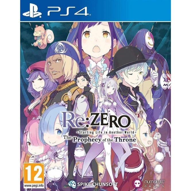 Re:ZERO -Starting Life in Another World- The Prophecy of the Throne PS4