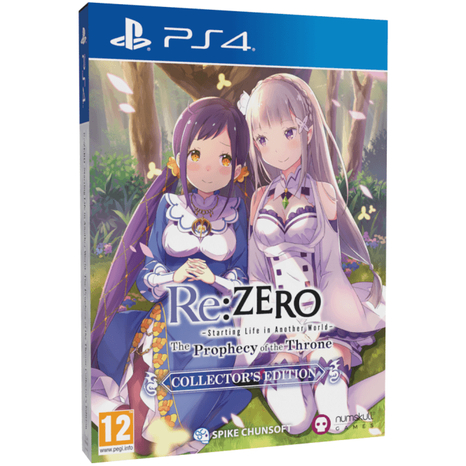 Re:ZERO The Prophecy of the Throne Collector's Edition PS4