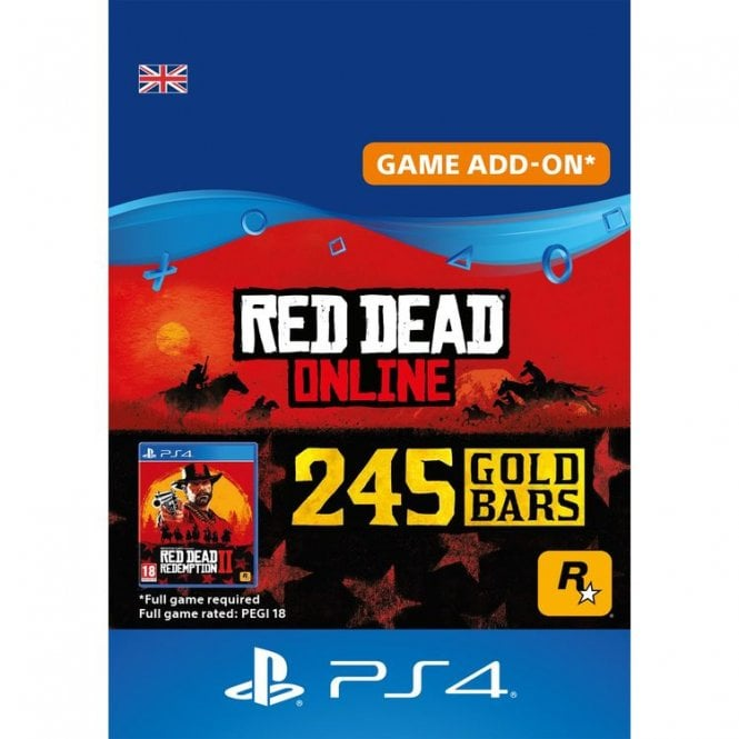 Red Dead Online 245 Gold Bars
