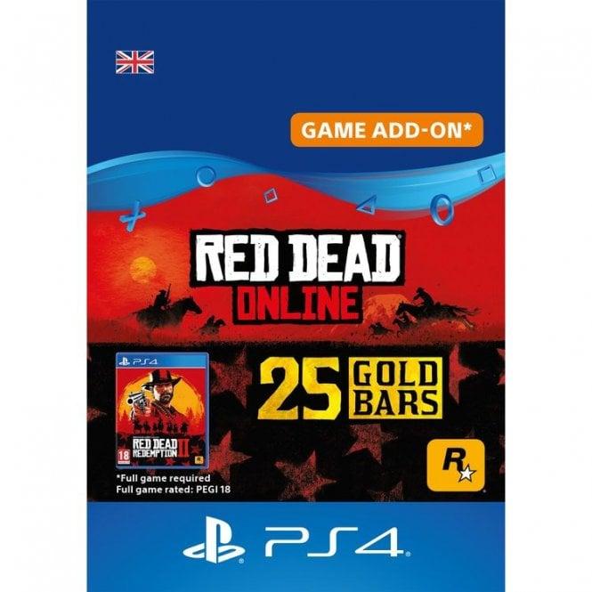 Red Dead Online: 25 Gold Bars