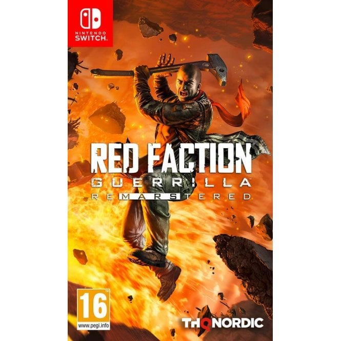 Red Faction Guerilla Remastered Edition Switch