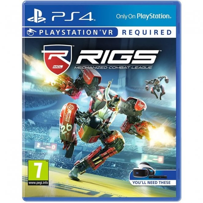 RIGS Mechanised Combat League PS4