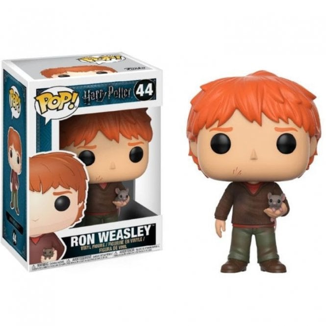 Ron Weasley with Scabbers POP! Vinyl