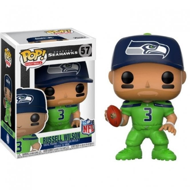 Russell Wilson Seattle Seahawks Color Rush POP! Vinyl