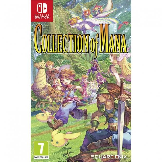 Secret of Mana Collection Switch
