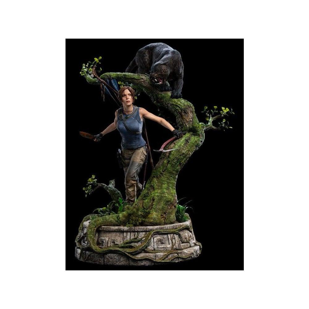 Wallpaper Lara Croft Shadow Of The Tomb Raider Concept: Shadow Of The Tomb Raider 1/4 Scale Statue Lara Croft
