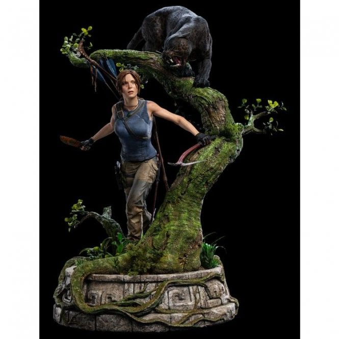 Shadow of the Tomb Raider 1 4 Scale Statue Lara Croft