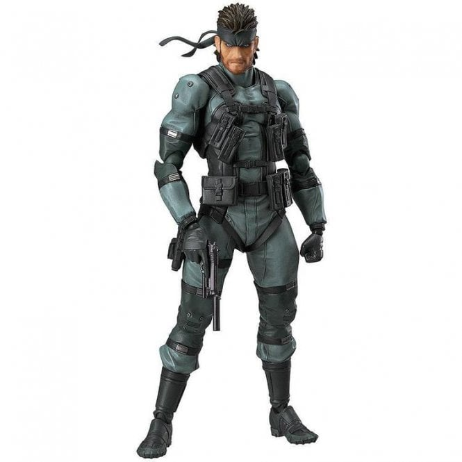 Solid Snake figma MGS2 ver.