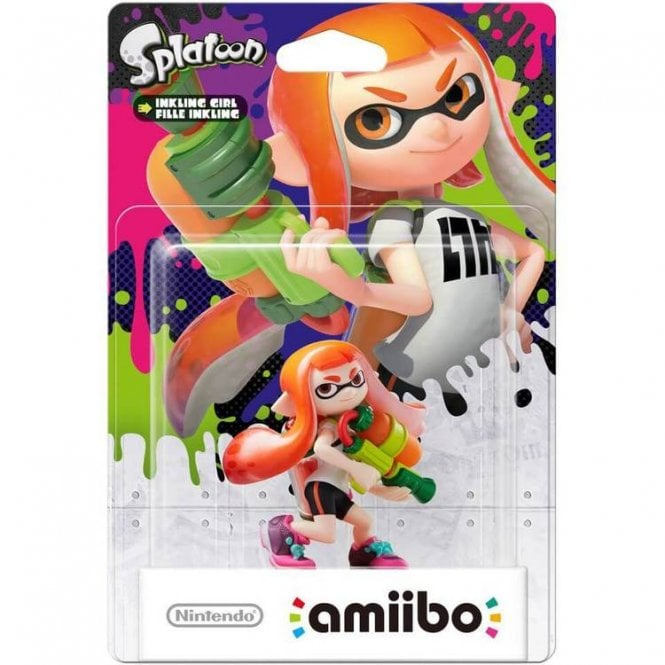 Splatoon Collection Inkling Girl Amiibo