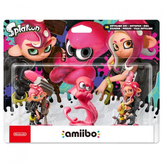 Splatoon Collection Octoling Triple Pack Amiibo