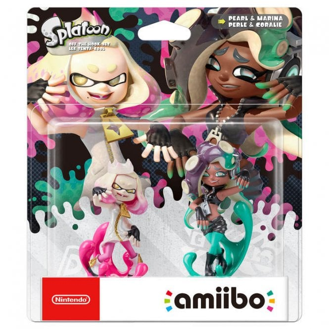 Splatoon Collection Off the Hook Set Amiibo