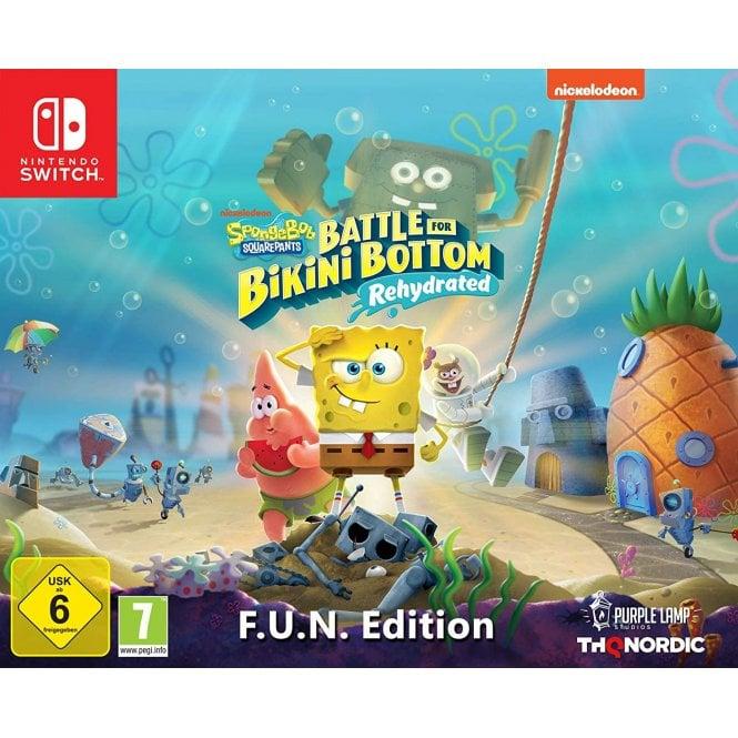 Spongebob SquarePants Battle For Bikini Bottom F.U.N Edition Switch