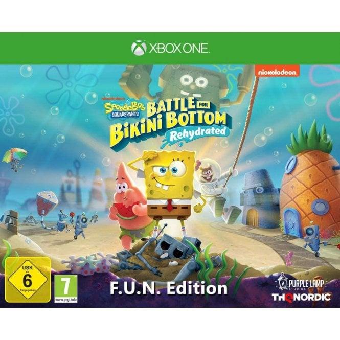 Spongebob SquarePants Battle For Bikini Bottom F.U.N Edition Xbox
