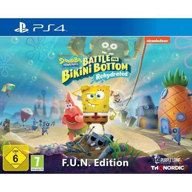 Spongebob Squarepants Battle For Bikini Bottom Rehydrated Fun Edition PS4