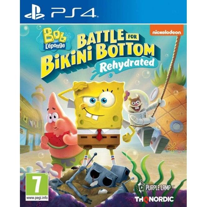 Spongebob Squarepants Battle For Bikini Bottom Rehydrated PS4