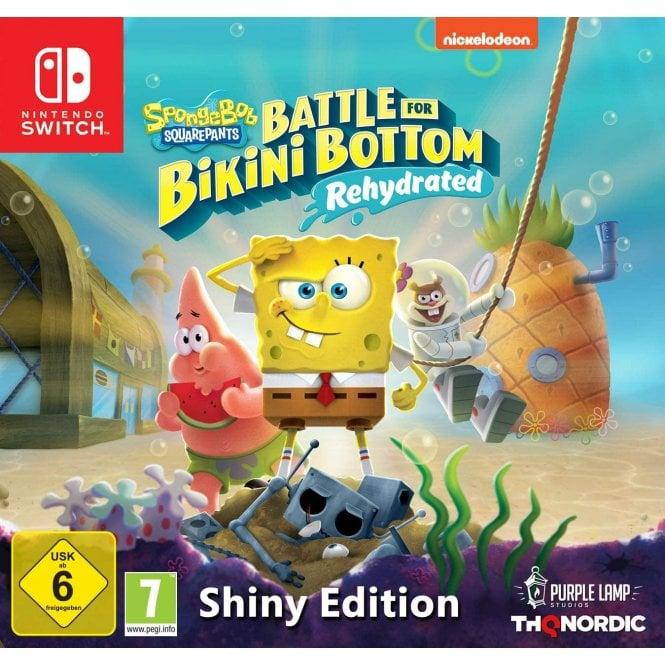 Spongebob Squarepants Battle For Bikini Bottom Rehydrated Shiny Edition Switch