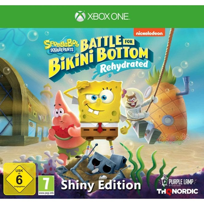 Spongebob SquarePants Battle For Bikini Bottom Shiny Edition Xbox One