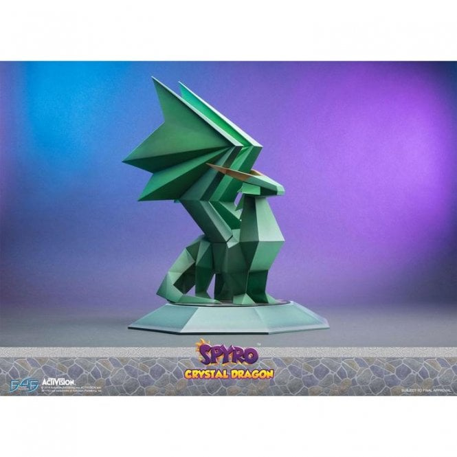 Spyro the Dragon Crystal Dragon Statue