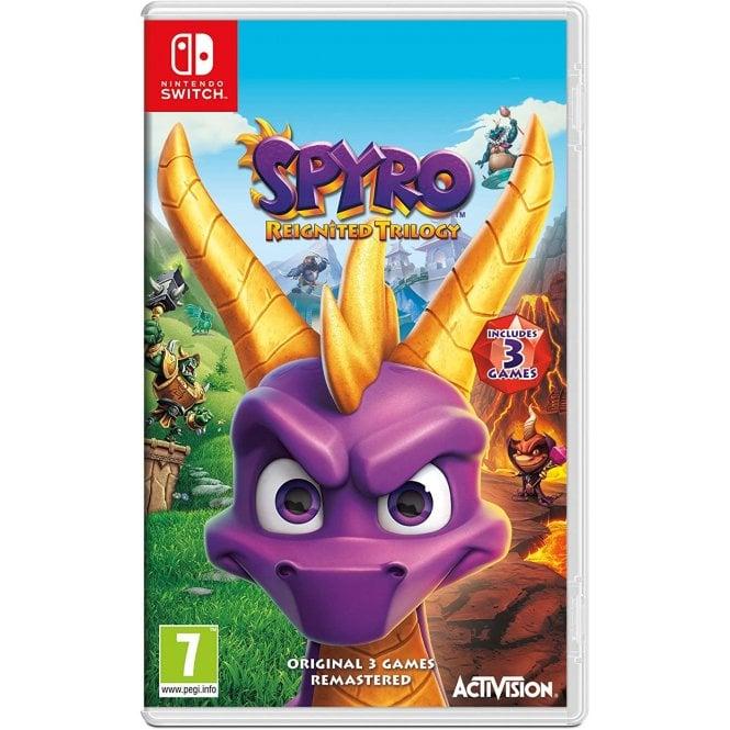 Spyro Triloty Reignited Switch