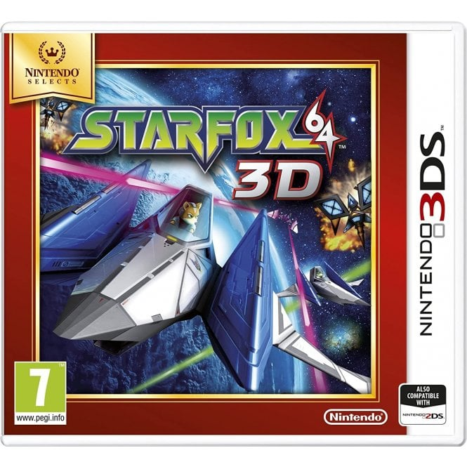 Star Fox 64 Nintendo Selects 3DS