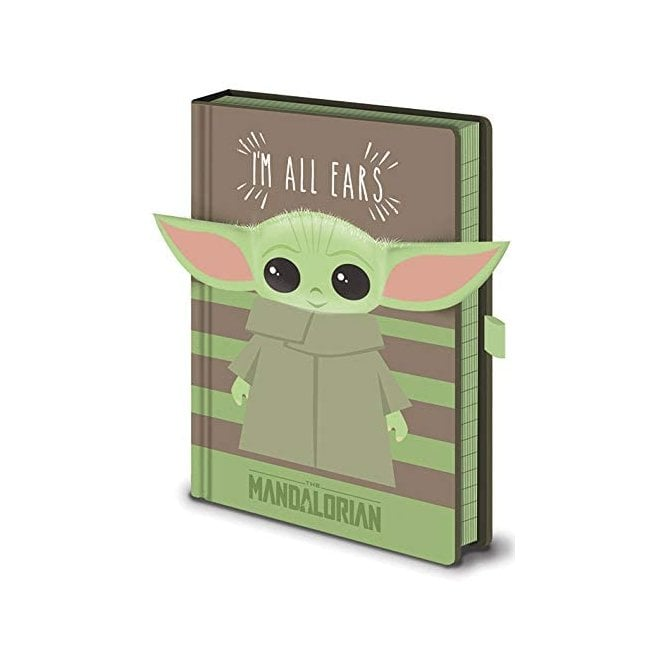 Star Wars A5 Premium Baby Yoda Notebook