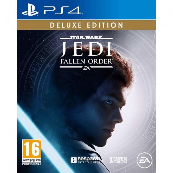 Star Wars Jedi Fall Order Deluxe Edition PS4