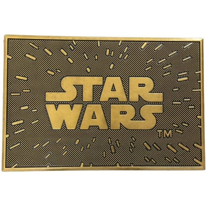 Star Wars Logo Door Mat