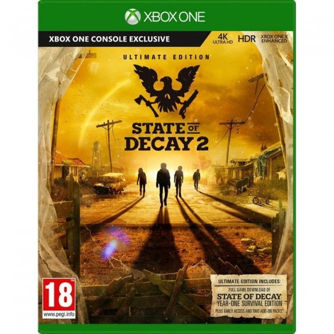 State of Decay 2 Ultimate Edition Xbox