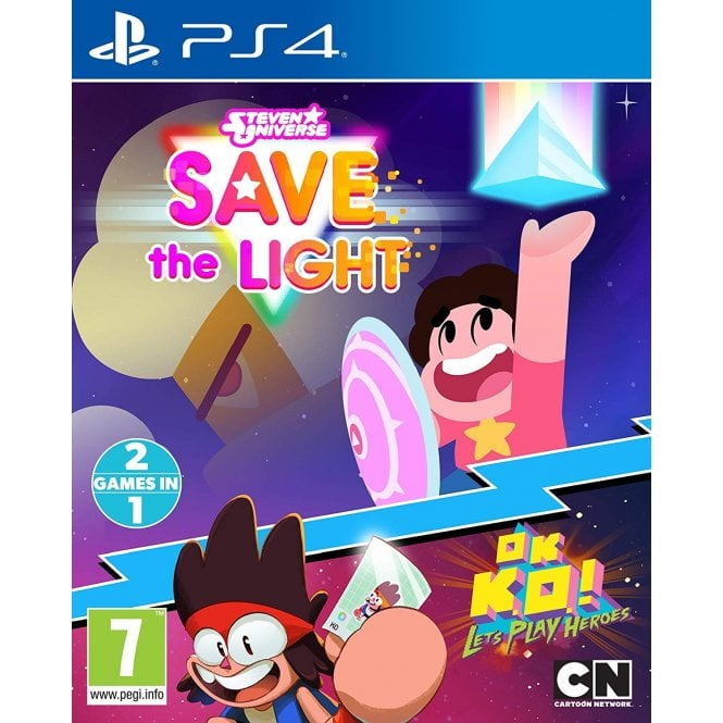 Steven Universe: Save the Light & OK K.O.! Lets Play Heroes Combo Pack PS4