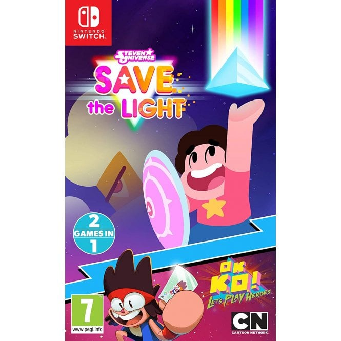 Steven Universe: Save the Light & OK K.O.! Lets Play Heroes Combo Pack Switch