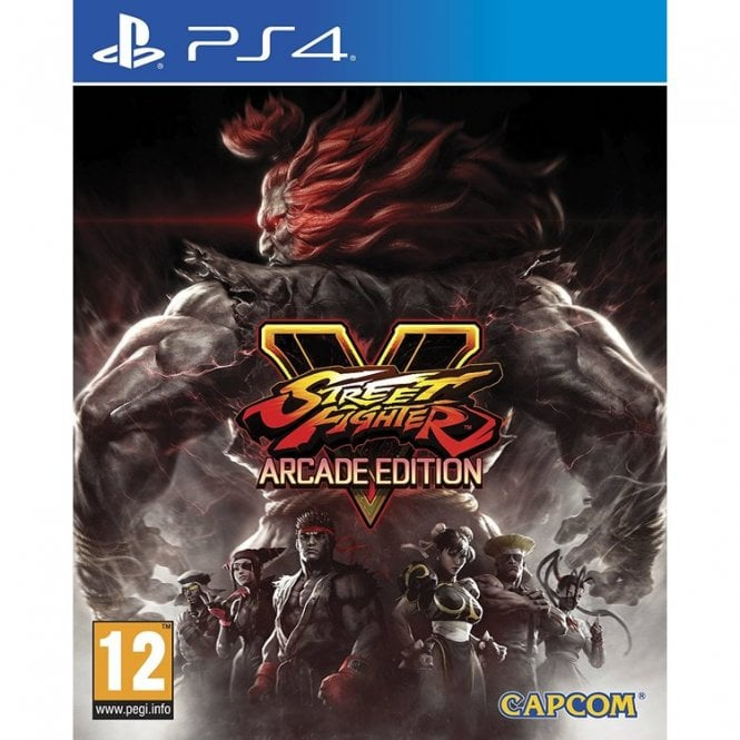 Street Fighter V Arcade Editon PS4
