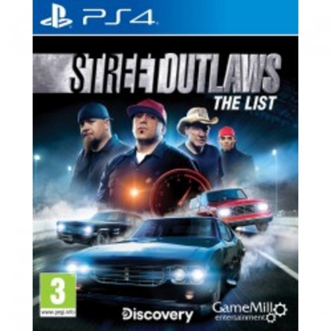 Street Outlaws The List PS4