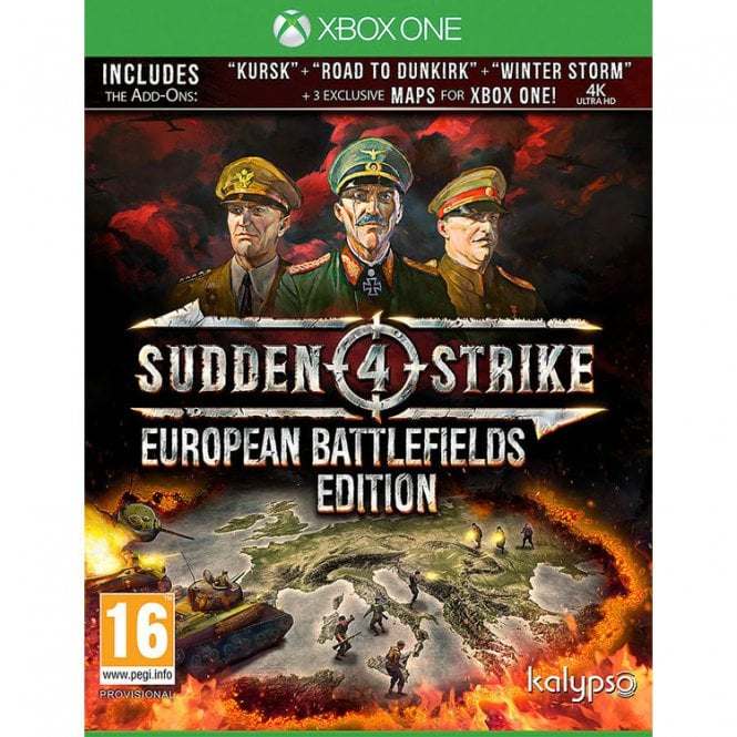 Sudden Strike 4 European Battlefields Xbox One