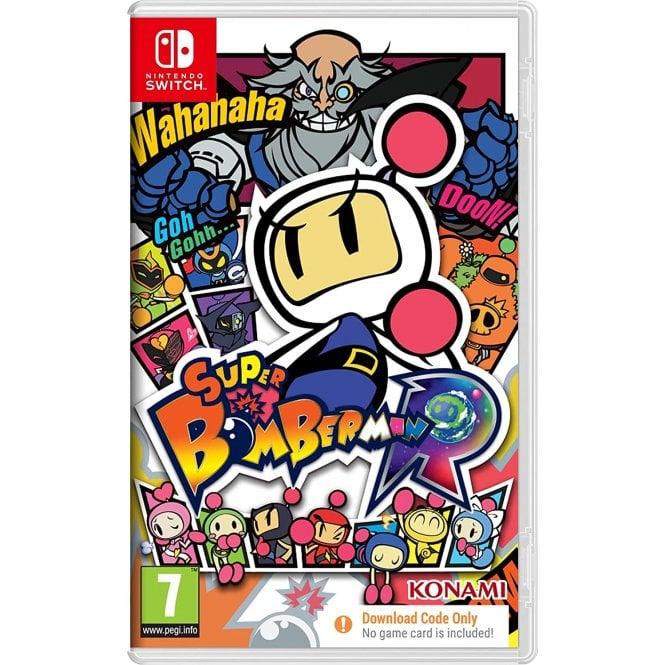 Super Bomberman R Code in a Box Switch