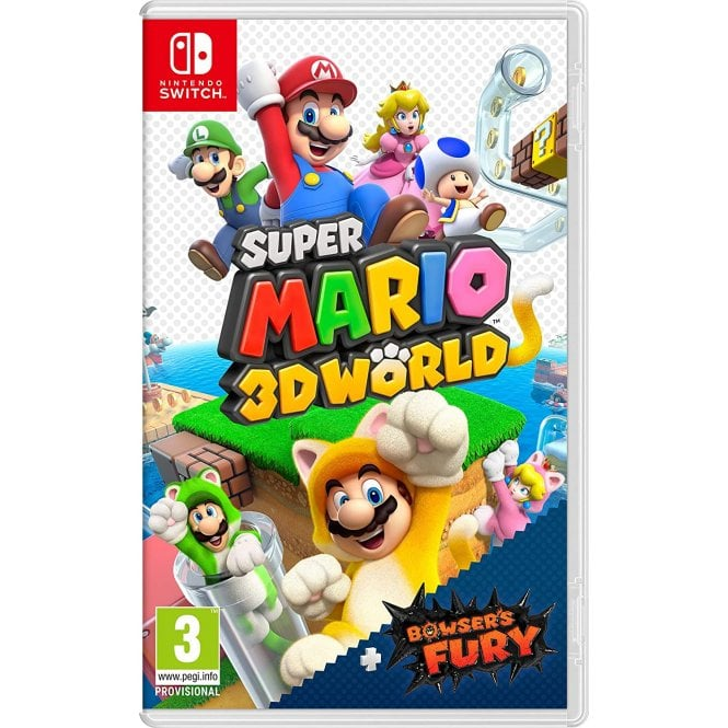 Super Mario 3D World & Bowser's Fury Switch