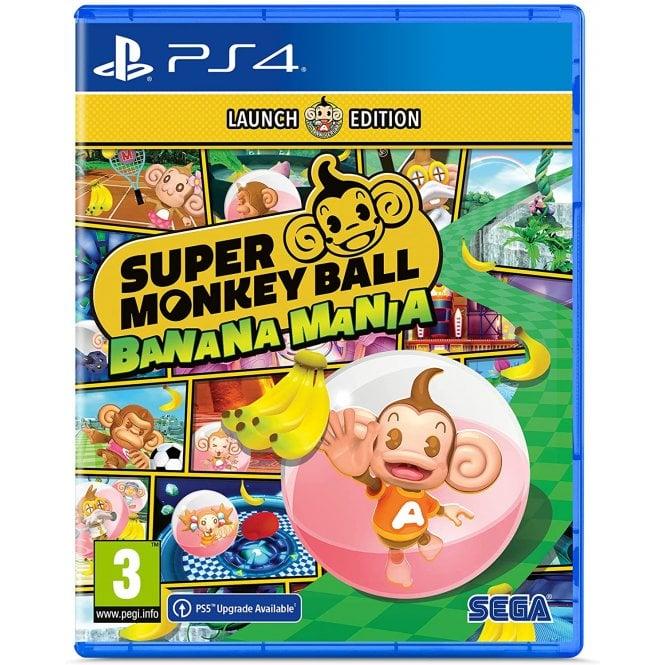 Super Monkey Ball Banana Mania Launch Edition PS4
