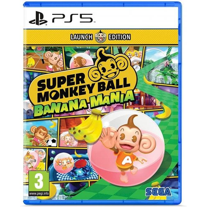 Super Monkey Ball Banana Mania Launch Edition PS5