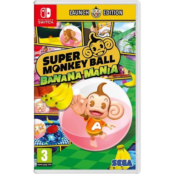 Super Monkey Ball Banana Mania Launch Edition Switch