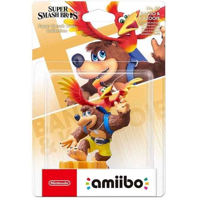 Super Smash Bros. Amiibo Banjo & Kazooie