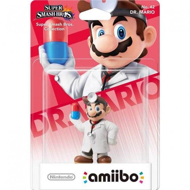 Super Smash Bros Collection Dr. Mario Amiibo
