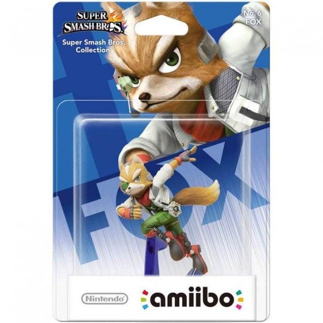 Super Smash Bros Collection Fox Amiibo
