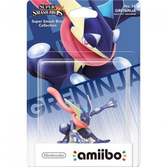 Super Smash Bros Collection Greninja Amiibo