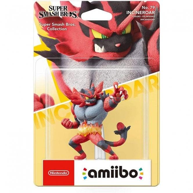 Super Smash Bros Collection Incineroar Amiibo