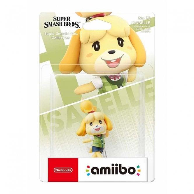 Super Smash Bros Collection Isabelle Amiibo