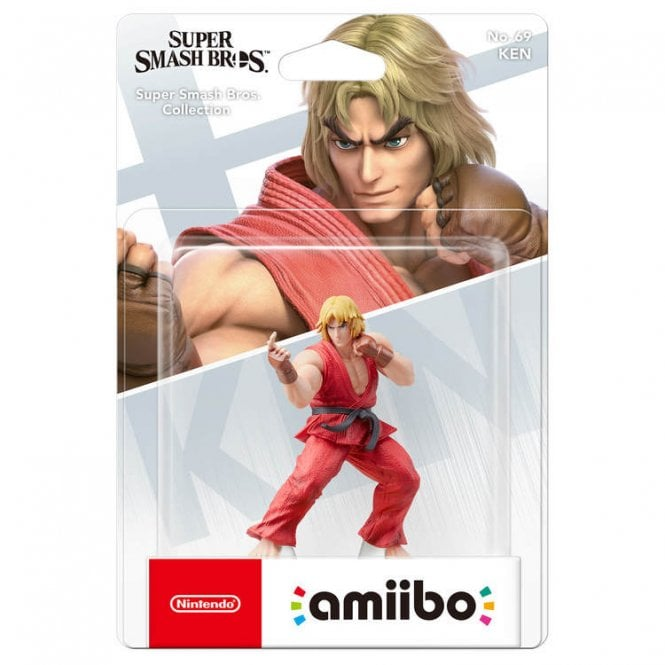 Super Smash Bros Collection Ken Amiibo