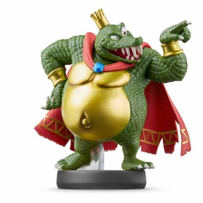 Super Smash Bros: Collection King K Rool Amiibo