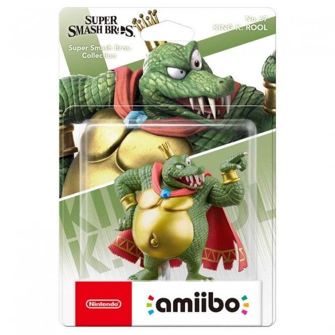 Super Smash Bros: Collection King K Rool Amiibo
