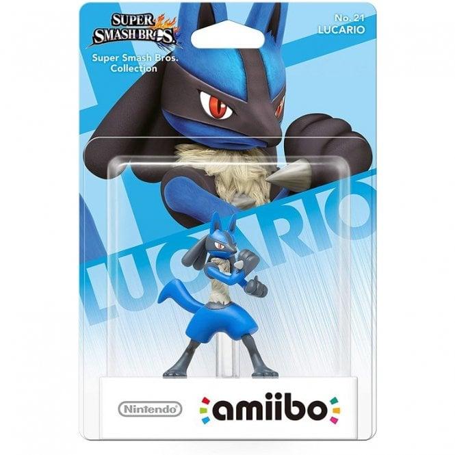 Super Smash Bros Collection Lucario Amiibo